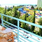 Вид изо заезжий двор санатория СССР